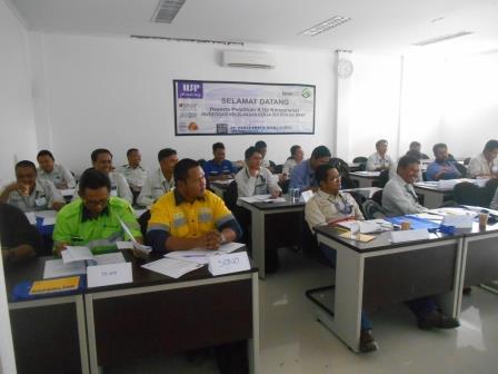 Training Investigasi Kecelakaan Kerja PT Berau Coal